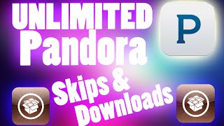 Pandora Unlimited Skips & Downloads iPhone Hack!!! Cydia Tweak Tutorial for iOS 8, 7, 6