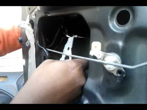 Pt 3 96 00 Honda Civic Door Handle Lock Removal Youtube