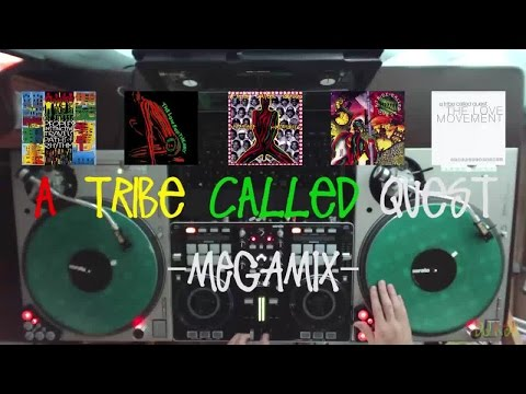 R.I.P Phife Dawg - DJ Keisuke - A Tribe Called Quest Megamix 2014