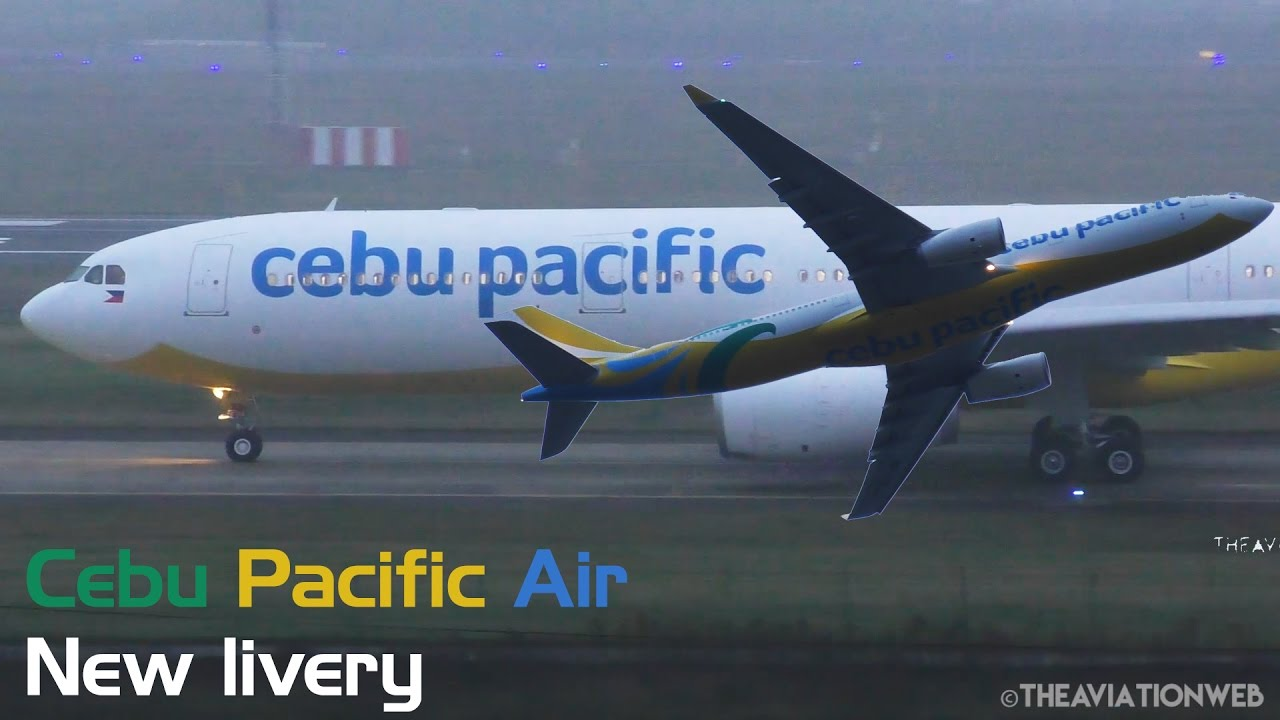 New Livery - Cebu Pacific - Airbus A330-343 - Test Flight at Toulouse | TLS  / LFBO