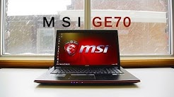MSI GE70 Apache Gaming Notebook Review