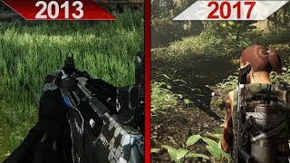 SBS Comparison | Crysis 3 (2013) vs. Tom Clancy's Ghost Recon Wildlands (2017) | ULTRA | PC