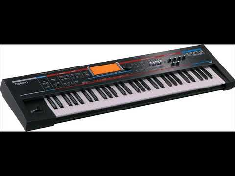 roland juno g and live sounds and pitch bend use at 48 semi tones down and up!