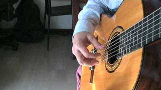 THE ENTERTAINER guitar - chitarra - full version Scott Joplin (The Sting theme - La stangata)