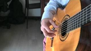 THE ENTERTAINER guitar - chitarra - full version Scott Joplin (The Sting theme - La stangata)