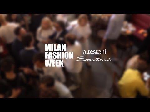 Santoni & Atestoni Footwear Show. Milan Fashion Week