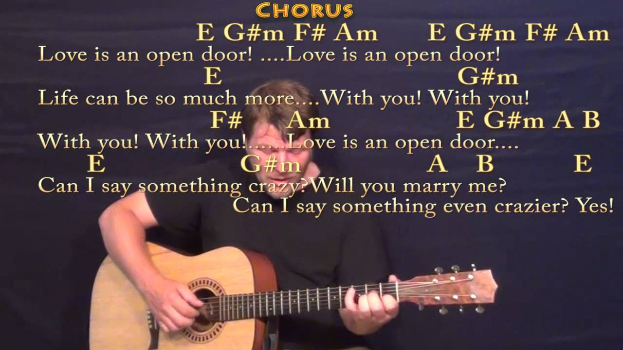 Love is an open door frozen fingerstyle guitar cover lesson with love is an open door frozen fingerstyle guitar cover lesson with chords lyrics hexwebz Gallery