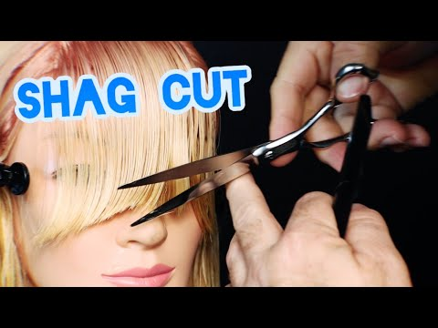 SHAG HAIRCUT TUTORIAL – Easy step by step