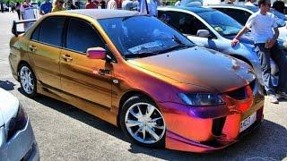 Автомобиль меняет цвет. Почти как хамелеон!