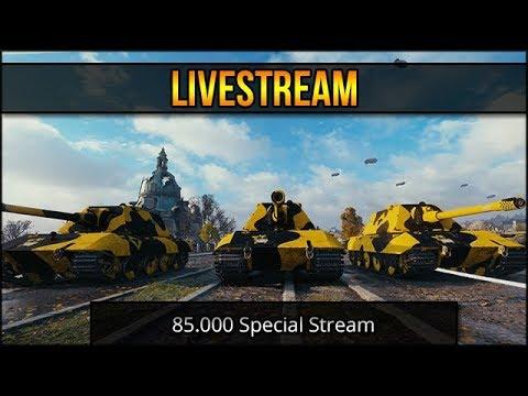 85.000 Abo Special Stream - WT / WoT [ deutsch 🐄 gameplay ]