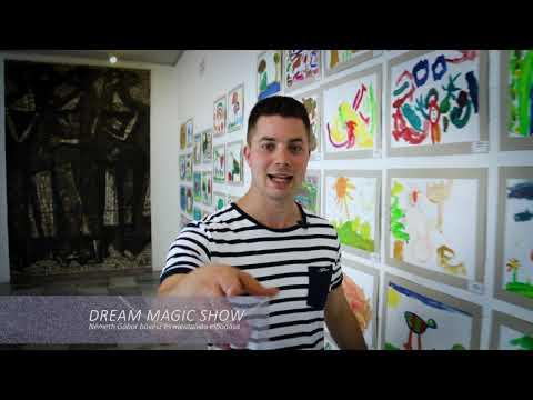 Múzeumok Éjszakája – Dream Magic Show: Németh Gábor bűvészműsora a Barcsay Múzeum udvarán