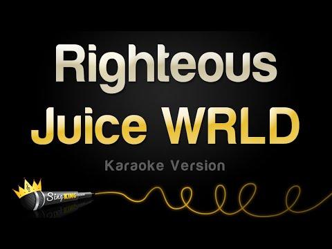Juice WRLD - Righteous (Karaoke Version)