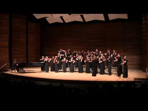 Siskiyou Violins performing Handel's Chaconne - SOU Recital Hall 2/8/14