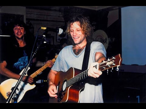 Bon Jovi - Someday I'll Be Saturday Night (Acoustic Full Band / New York 1994)