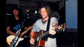 Bon Jovi - Someday I'll Be Saturday Night (Acoustic Full Band / New York 1994)