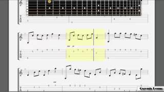 Chưa bao giờ mẹ kể (Min ft. Erik) - Tab Guitar Solo (Tutorial)