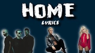 Machine Gun Kelly, X Ambassadors, & Bebe Rexha - Home (with LYRICS)