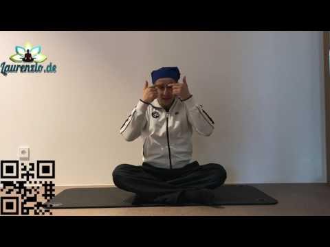 Laurenzio Yoga Frankfurt - Yoga Übungen für die Augen - Neu bei Youtube in Deutsch.