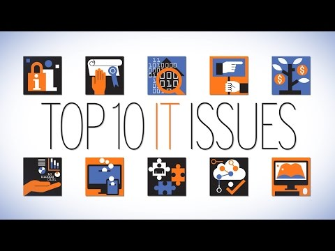The 2017 Top 10 IT Issues