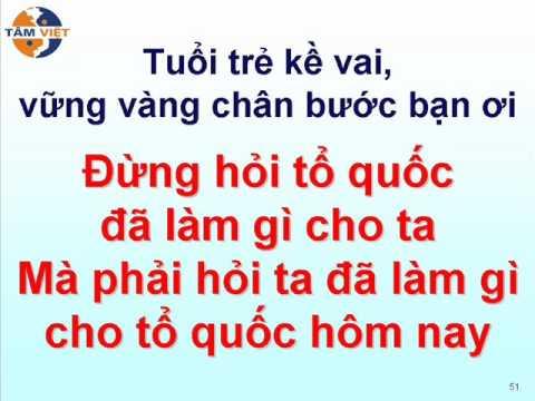 Khát vọng tuổi trẻ - Tâm Việt Langmaster