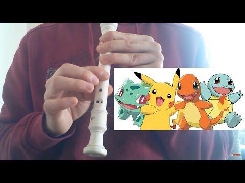 Pokémon Theme Song Recorder Block Flute Notes
