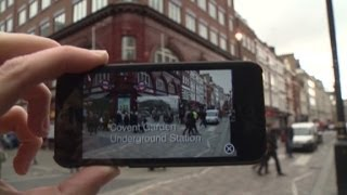 New App turns tourist into time traveler