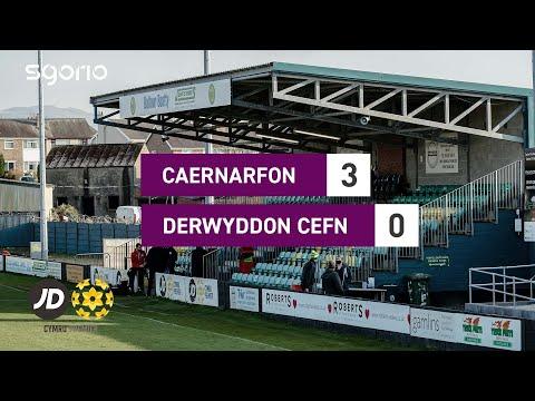 Caernarfon Druids Goals And Highlights