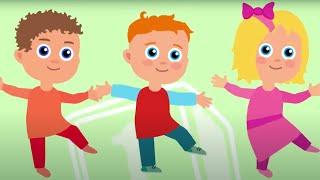 УЧИМ БУКВЫ - К-Ф - Алфавит с Царевной - Песни для детей