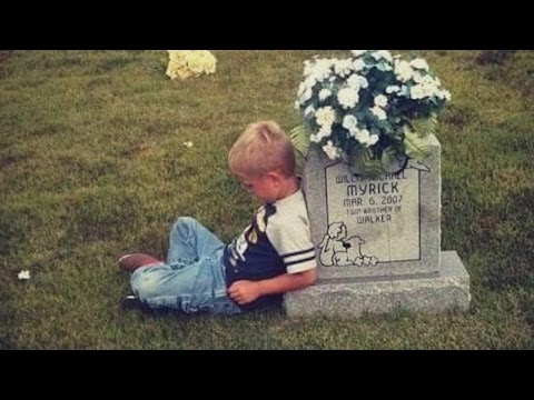 Boy, 9, Visits His Twin's Grave to Tell Him About His School Day