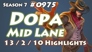 Dopa - Twisted Fate vs Lucian - KR LOL Highlights | 도파 트페