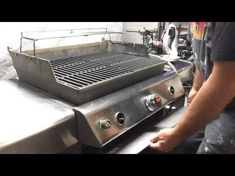Weber Gas Grill E310 Repair and Cleaning