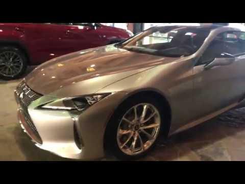 North Park Lexus >> Atomic Silver Lexus LC at Lexus Dominion - YouTube