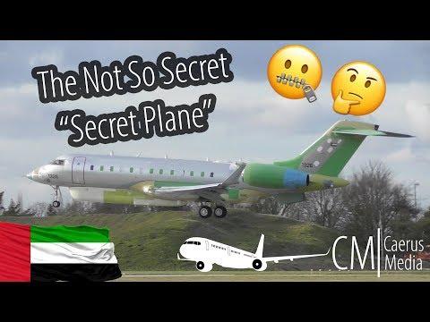 """The Not So Secret """"Secret Plane""""   UAEAF """"1326""""   Cambridge Airport"""