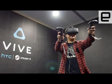 HTC Vive VR Games Got My Adrenaline Pumping