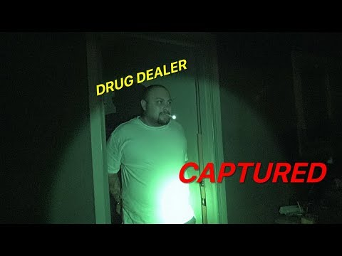 "DRUG DEALER HIDING IN GARAGE ""CAPTURED"""