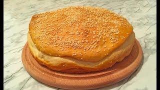 Арабская Лепешка с Кунжутом / Bint Al sahn / Arabian Flatbread / Арабский Хлеб / Arabic Bread (Pita)
