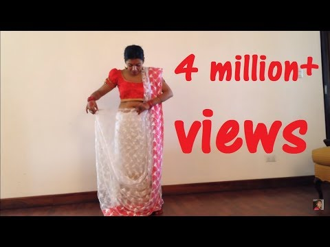 How to tie DOLA RE DOLA saree from Devdas (+sub)