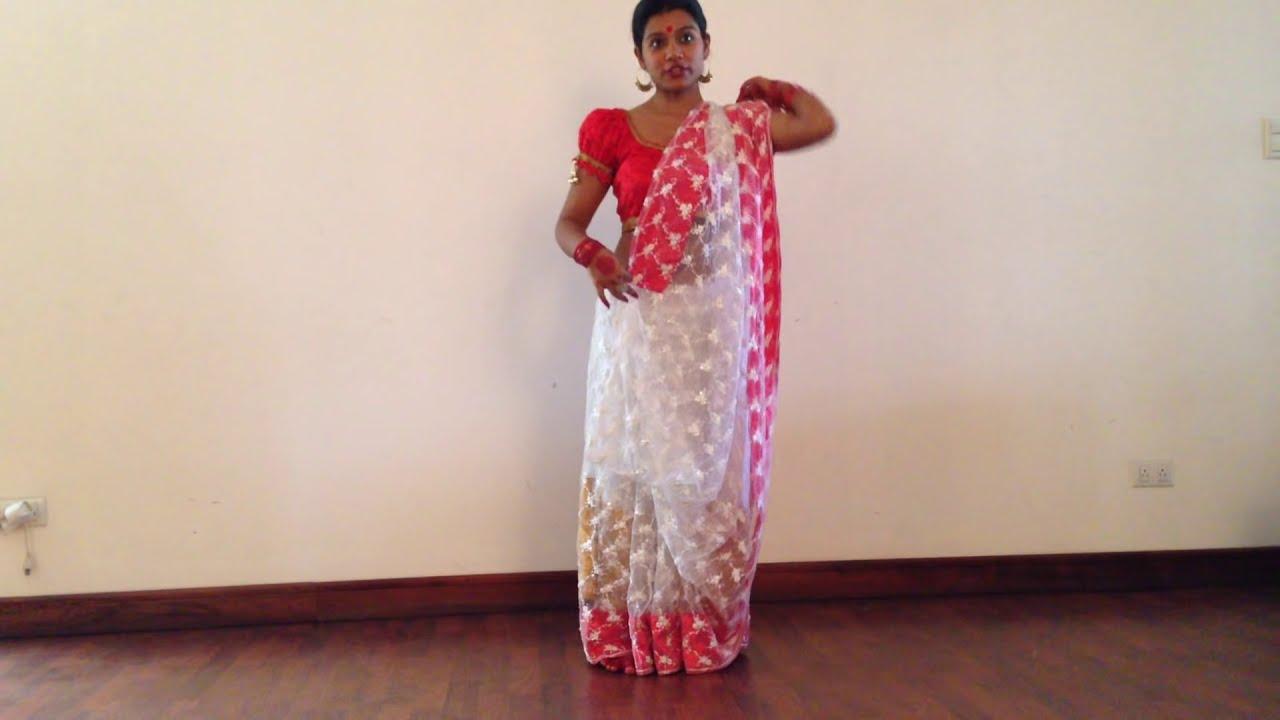 how to tie dola re dola saree from devdas sub youtube