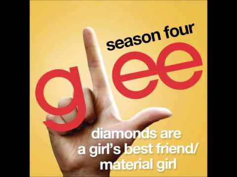 Glee - Diamonds Are A Girl's Best Friend/Material Girl (DOWNLOAD MP3 + LYRICS)
