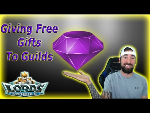 Lords Mobile JOINING YOUR GUILD! | GIFTING YOU ITEMS FOR FREE!!!