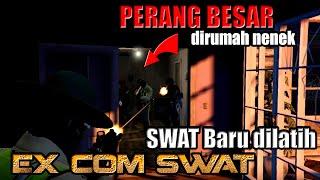 PERANG BESAR DIRUMAH NENEK MELAWAN SWAT !! - GTA 5 Roleplay Indonesia