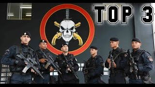 TOP 3: OS CURSOS MAIS DIFÍCEIS DAS FORÇAS POLICIAIS BRASILEIRAS!