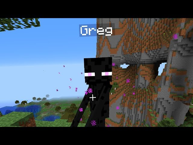 We tried to tame an Enderman in Minecraft