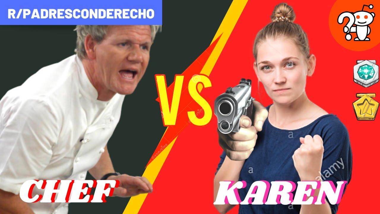 MADRE CON DERECHO PELEA CON CHEF Y DESPERDICIA COMIDA - Madre con derecho Reddit