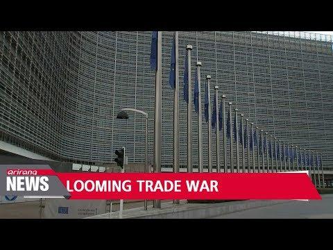 Trade war looms as EU to retaliate against Trump's tariff plan