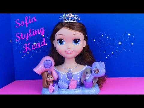 Sofia The First Disney Junior Styling Head - A Disney Princess Toy Review