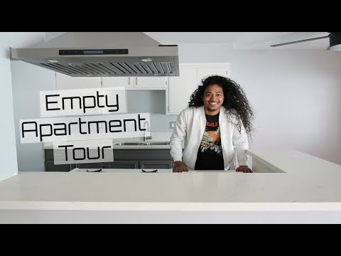 My First Empty Apartment Tour  First Apartment  Vlog #3