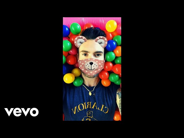 Wait: Maroon 5 graba su nuevo vídeo con Snapchat