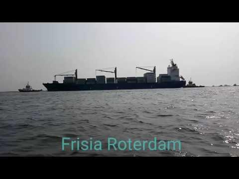Frisia Roterdam at Tanjung Priok Port Jakarta #ShipVlog