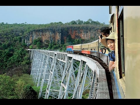 🇲🇲 Myanmar - Time Travel by Rail